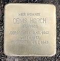 Stolperstein Bartningallee 11 (Hansa) Denis Horch.jpg