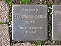 Stolperstein Ferdinand Baruch, 1, Brunnenallee 29, Bad Wildungen, Landkreis Waldeck-Frankenberg.jpg