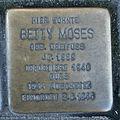 Stolperstein Karlsruhe Betty Moses Karlstr 48 (fcm).jpg
