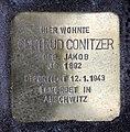 Stolperstein Krefelder Str 7 (Moabi) Gertrud Conitzer.jpg