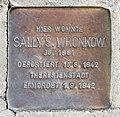 Stolperstein Kufsteiner Str 8 (Wilmd) Sally S Wronkow.jpg