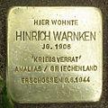 Stolperstein Langwedel - Hinrich Warnken (1906).jpg