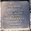 Stolperstein Stierstr 20 (Fried) Minna Cohn.jpg