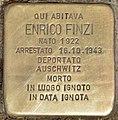 Stolperstein für Enrico Finzi (Rom).jpg