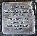 Stolperstein für Klara Grünberg.JPG