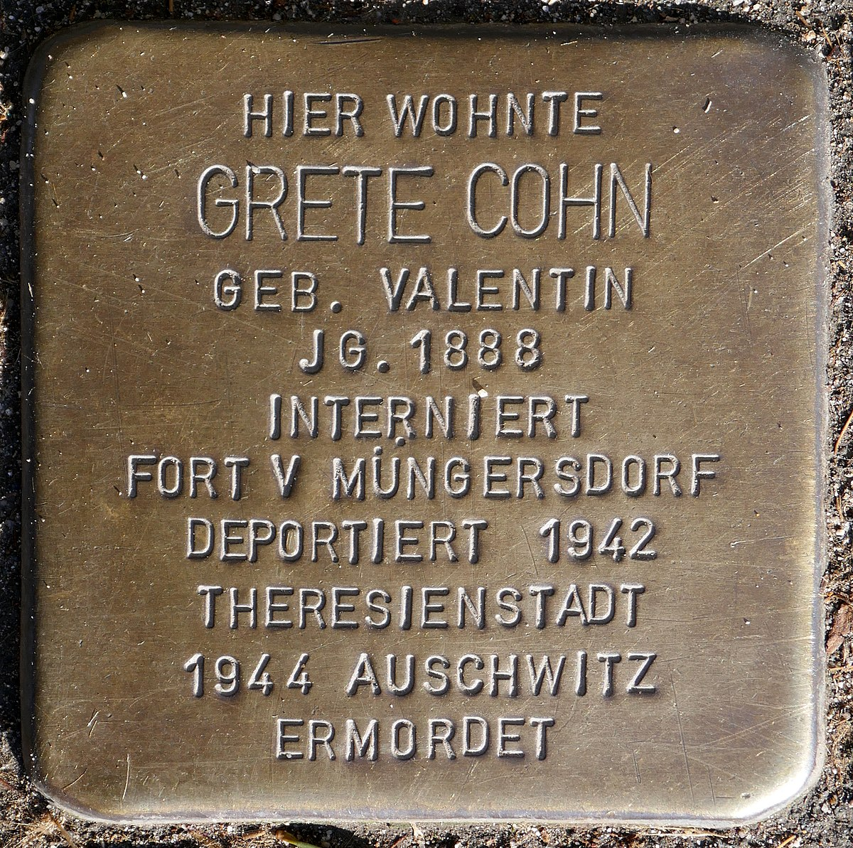 Stolpersteine Köln