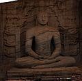 Stone Budda, Polonnaruwa (7172311074).jpg