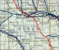 Stouffer's Railroad Map of Kansas 1915-1918 Cloud County.png