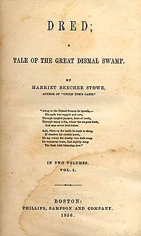 Dred: A Tale of the Great Dismal Swamp cover