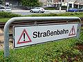 Strassenbahn sign in Plauen.jpg