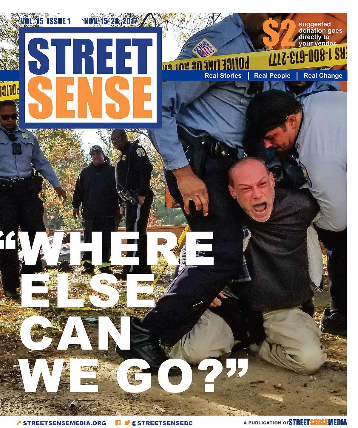 4789c348ad7102 Street Sense (newspaper) - Wikipedia