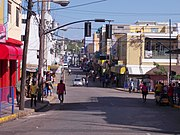 Street in Montigo Bay Jamaica Photo D Ramey Logan