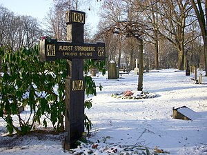 Norra begravningsplatsen - Grave of August Strindberg