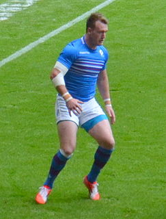 Stuart Hogg Scottish rugby union footballer