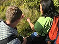 Students work to identify as many plant species as possible during a plant inventory. NPS Photo. (17867273871).jpg