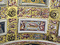 Studiolo, emblema di francesco I nel soffitto (donnola).JPG