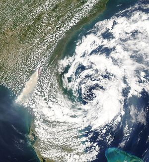 Cyclone - Subtropical Storm Andrea in 2007