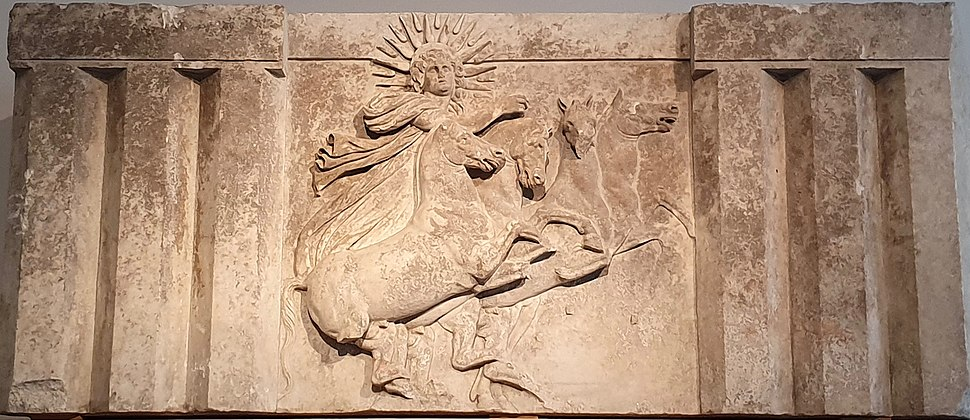Sun God Helios relief (Altes Museum)