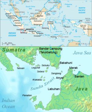 Panaitan - Image: Sunda strait map v 3