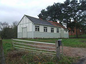 English: Sunday School or Church Hall? This bu...