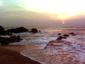 Sunrise at Tenneti Park in Vizag.jpg