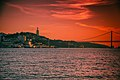 Sunset by the river Tagus (36234336431).jpg