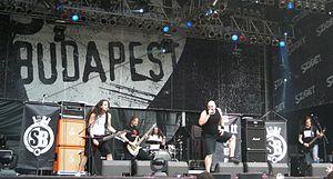 Superbutt - Superbutt performing at Sziget Festival in 2011.