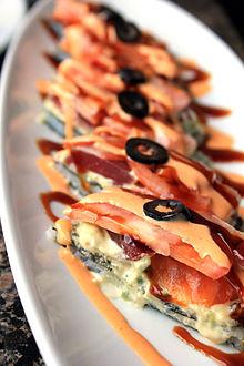 Sushi pizza - Wikipedia