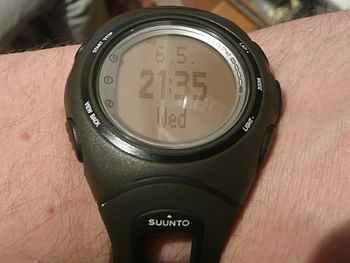 English: Suunto Heart Rate Monitor watch t6c