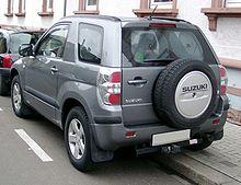 Suzuki Grand Vitara rear 20080118.jpg