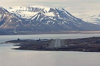 Svalbard Airport, Longyear airport in Svalbard, Norway