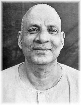 Sivananda Saraswati - Image: Swami Shivananda Liebe