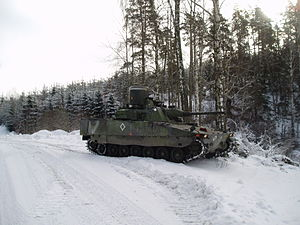 Combat Vehicle 90 - CV9040 AAV