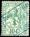 Switzerland Basel 1884 revenue 10c - 1C.jpg