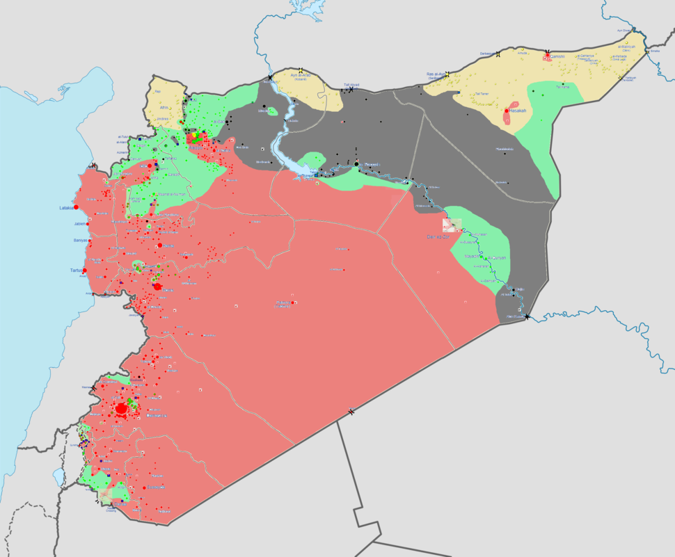 Syrian civil war 16-3-14