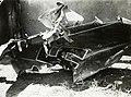Szerbia 1941, Messerschmitt vadászrepülőgép roncsa. Fortepan 77017.jpg