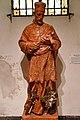 Szombathely, szaléziánus templom Nepomuki Szent János-szobra 2021 05.jpg