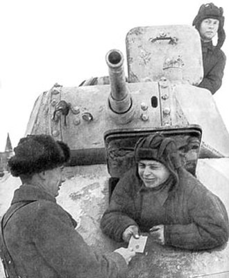T-50 tank - Image: T50 1