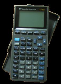 TI-82 Graphics calculator