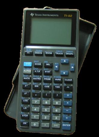 TI-82 - TI-82, original design