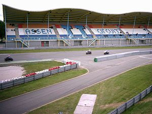 TT Circuit Assen - Training session in front of the grandstand