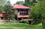 Hillside Home School, 1902, Taliesin, Spring Green, Wisconsin