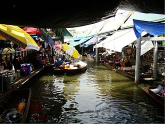 Taling Chan District - Floating market in Taling Chan open on weekends