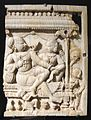 Tamil nadu, pannello decorativo da una porta, avorio, xvii sec. 02.JPG