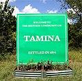 Tamina, TX Entrance Sign 01.jpg