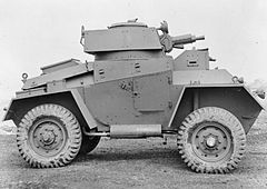 Guy Armoured Car Mk I