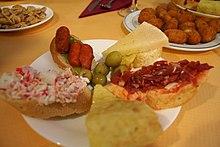 Tapa Alimento Wikipedia La Enciclopedia Libre