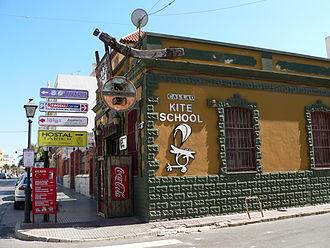 Estepona - Tarifa kite school.