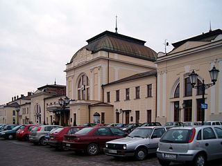 Tarnów rail station bomb attack