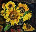 Tasso Marchini - Natura statica cu floarea-soarelui.jpg